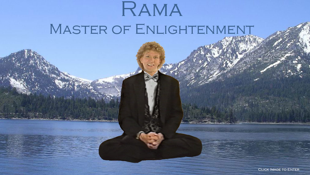 Rama - Frederick Lenz: Enlightened Buddhist Teacher, Zen Master, Master of Enlightenment.